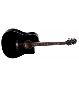 W-104CE-BK western gitaar...