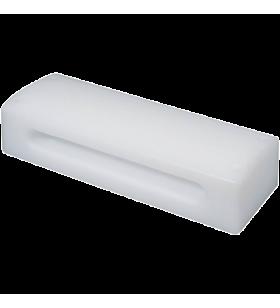 AP100 Poly-block fibre, wit