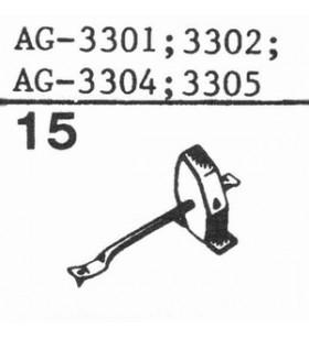 AG-3301 Vervangingsnaald