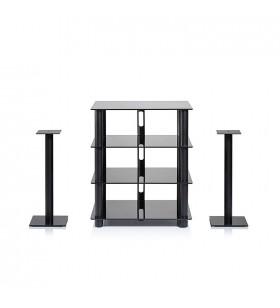 Epur Speaker Stand Set, Zwart