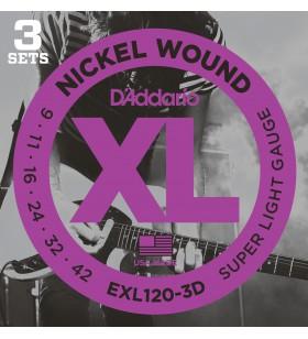 EXL120-3D, 3 SETS XL SUP...