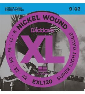 EXL120 set snaren .009 - .042