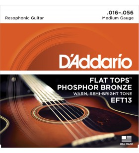 EFT13 resonator flat tops...