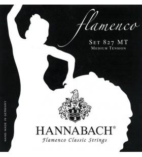 set Flamenco zwart 827MT...