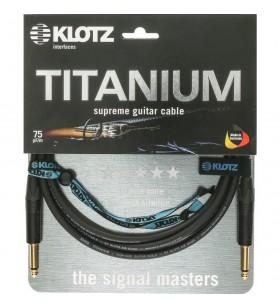 Titanium Gitaar kabel 4,5...