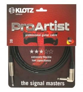 Pro Artist Gitaar kabel 6m...