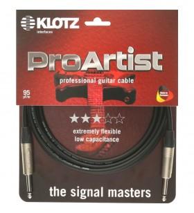 Pro Artist Gitaar kabel 3m...
