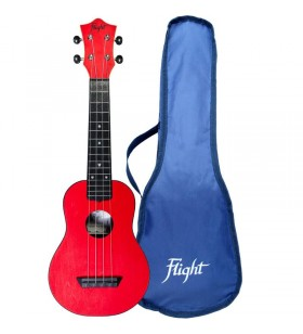 TUS35 ABS Travel Ukulele rood