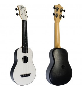 TUS35 ABS Travel Ukulele wit