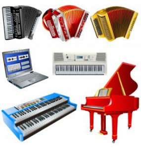 Keyboard, Synthesizer, Piano