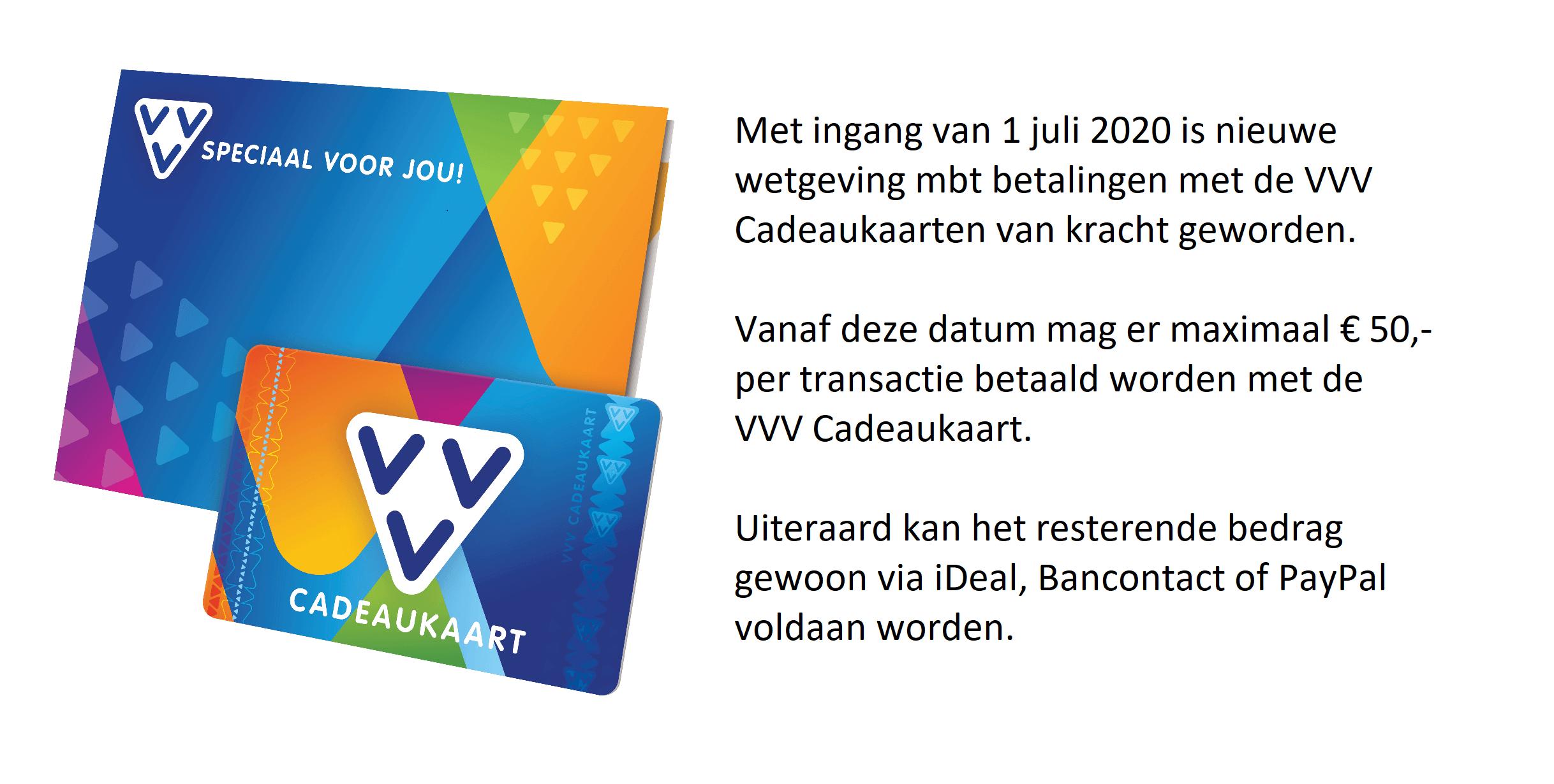 Maximuxm transactiebedrag € 50,-